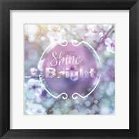 Cherry Blu Sign 4 Framed Print