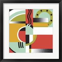 Framed Bauhaus 3