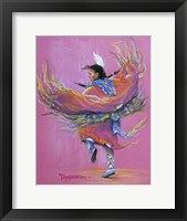 Framed Shawl Dancer