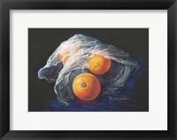 Framed Simply Oranges