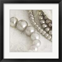 Framed Antique Pearls 2