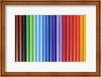 Framed Coloured Pencils 1