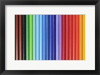 Framed Coloured Pencils 1