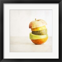 Framed Fruit Pieces as one
