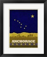 Framed Anchorage Flag