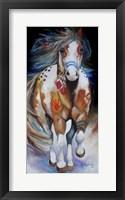 Framed Brave The Indian War Horse