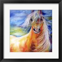 Framed Bright Day Equine