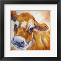 Framed My Jersey Cow Commission