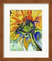 Framed Sunflower In July