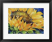 Framed Sunflower September