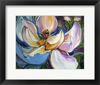 Framed Sweet Maganolia Modern Floral Abstract