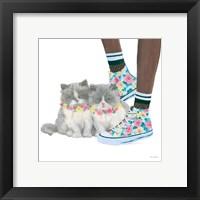 Framed Cutie Kitties VII
