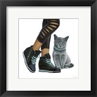 Framed Cutie Kitties V