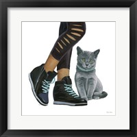 Cutie Kitties V Framed Print
