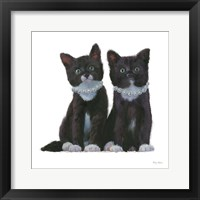 Framed Cutie Kitties IV