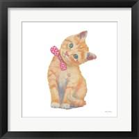 Cutie Kitties II Framed Print