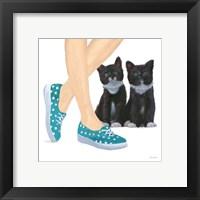 Framed Cutie Kitties III