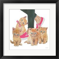 Cutie Kitties I Framed Print