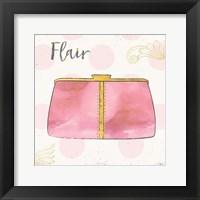 Framed Fashion Blooms II Pink