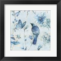 Framed Indigold XII Light Blue