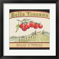 Framed Tuscan Flavor V