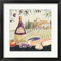 Framed Tuscan Flavor II