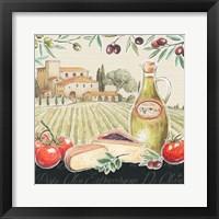Framed Tuscan Flavor III