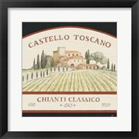 Framed Tuscan Flavor IV