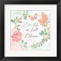 Watercolorful V Framed Print