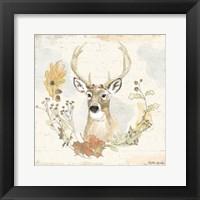 Framed Woodland Wreath VIII