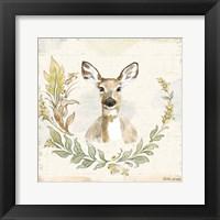 Framed Woodland Wreath VII