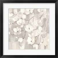 Framed Magnolias in Spring I Neutral