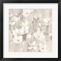 Framed Magnolias in Spring II Neutral