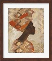 Framed African Beauty I