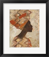 Framed African Beauty I
