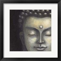 Framed Serene Buddha I Crop