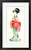 Framed Geisha I Bright Crop
