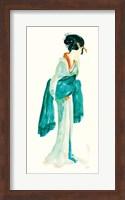 Framed Geisha II Bright Crop