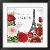 Framed Rouge Paris III