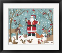 Framed Woodland Christmas VI