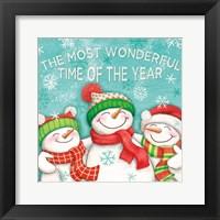 Framed Let it Snow VII