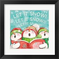 Framed Let it Snow VIII