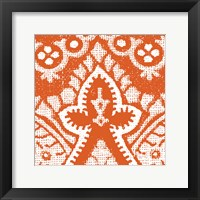 Boho Bright III Framed Print
