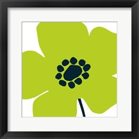 Framed Pop Art Floral IV