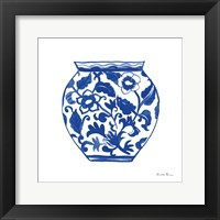 Framed Chinoiserie I