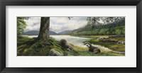 Framed Otters