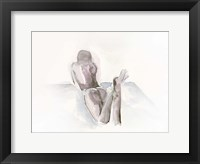 Framed Watercolour Nude 1