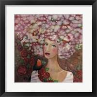 Framed Delphine