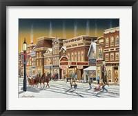 Framed Hometown Christmas