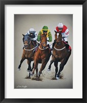 Framed Win, Place or Show